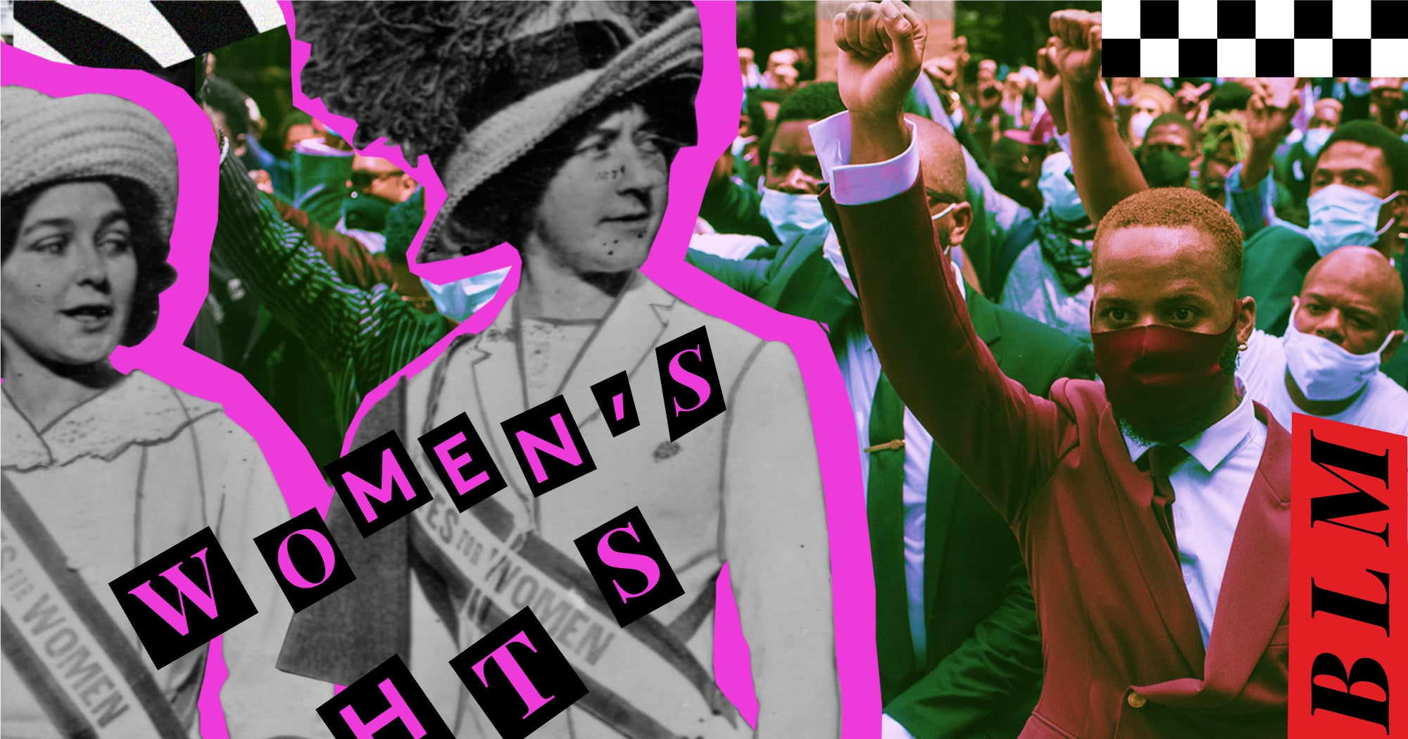 From All-White To Sunday Best: The Meanings Behind A Century of Protest Uniforms