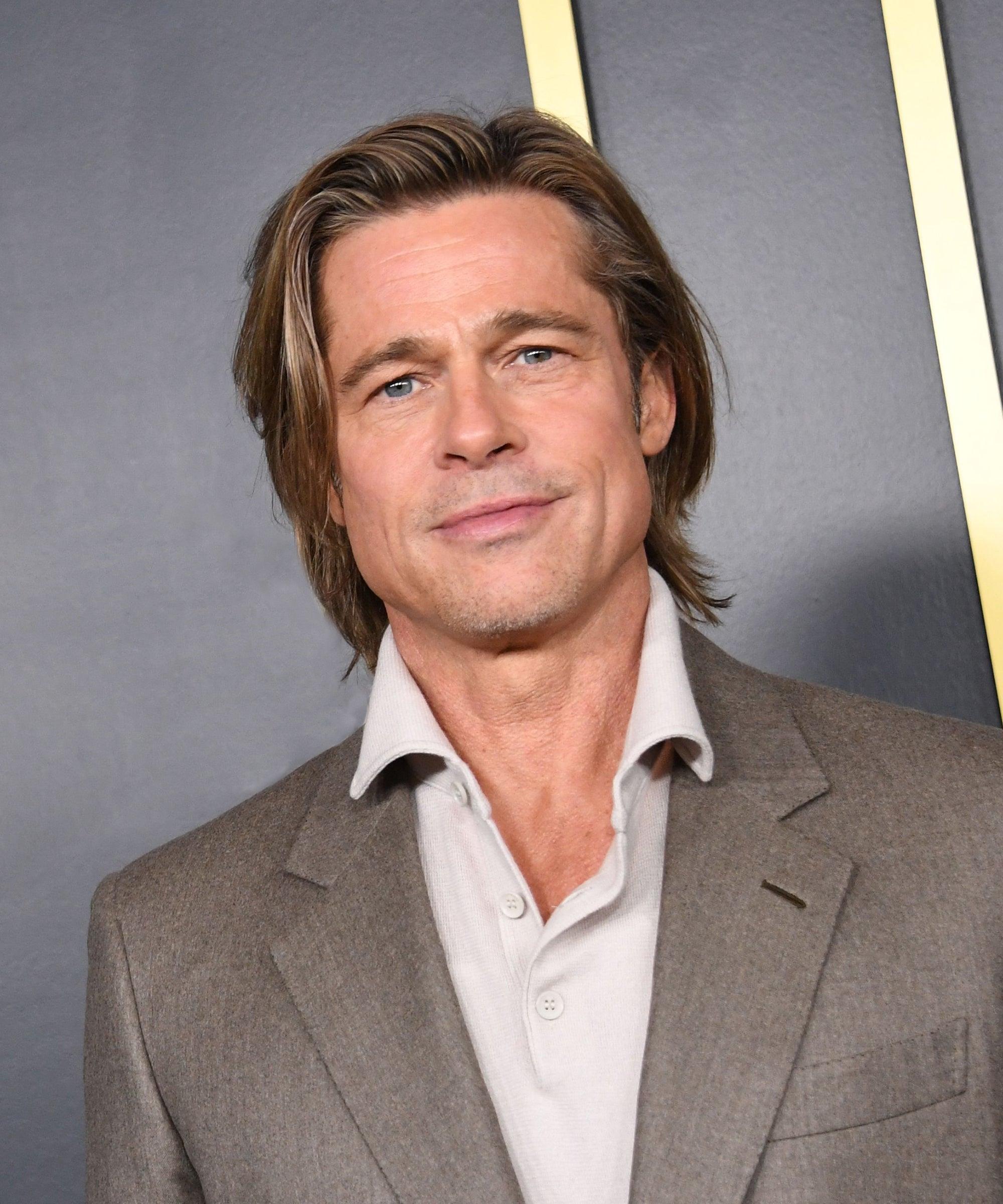 Brad Pitt Nicole Poturalski Dating Rumors Who Is She
